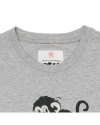 Paul Smith - Gray Year Of The Monkey T-Shirt for Men - Lyst
