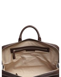 Bonastre - Brown Vegetable Tanned Leather Briefcase for Men - Lyst