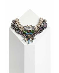 TOPSHOP | Multicolor Mega Stone Statement Necklace | Lyst