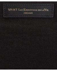Want Les Essentiels De La Vie - Black Ohare Organic Tote Bag for Men - Lyst