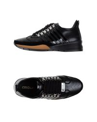 DSquared² - Black Low-Tops & Trainers for Men - Lyst