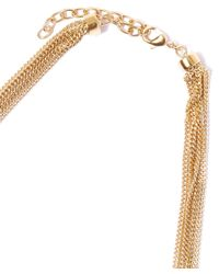 Chloé - Metallic Gold-tone Hope Semi Rigid Chain Collar Necklace - Lyst
