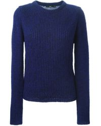 Stills - Blue Ribbed Sweater - Lyst