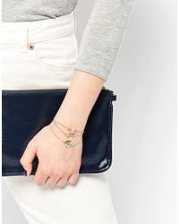 ALDO - Metallic Wiama Multipack Bracelets - Lyst