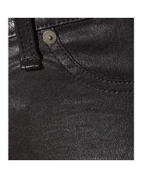Rag & Bone - Black Skinny Leather Trousers - Lyst