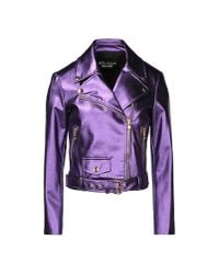 Boutique Moschino - Purple Blazer - Lyst