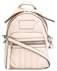 Marc By Marc Jacobs   Pink Domo Quilted Cross-Body Bag   Lyst