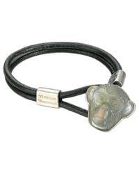 Vivienne Westwood | Metallic Venicius Cord Bracelet for Men | Lyst