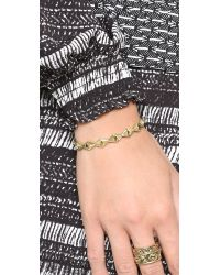 House of Harlow 1960 - Metallic Sierra Pyramid Cuff - Lyst