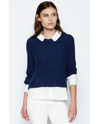 Joie | Blue Thevenette Layered Sweater | Lyst