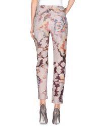 Étoile Isabel Marant - Pink Casual Trouser - Lyst