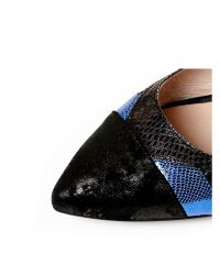 Moda In Pelle - Blue Ilaria Low Smart Shoes - Lyst