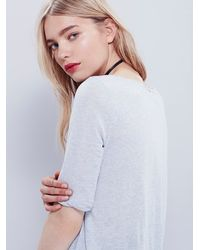 Free People | White We The Free Womens Perfect World Tee | Lyst
