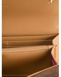 Etro - Brown Paisley Print Wallet - Lyst