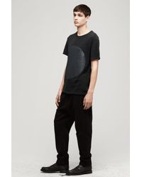 Rag & Bone - Black Graphic Pocket Tee - Lyst