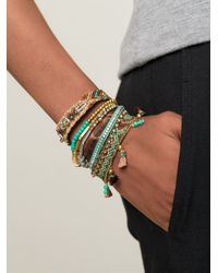 Hipanema | Brown 'Turquoise' Bracelet | Lyst