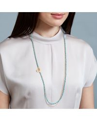Astley Clarke | Green Turquoise Moon Biography Necklace | Lyst
