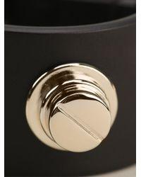 Givenchy - Metallic Studded Buckle Bracelet - Lyst