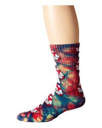 Huf | Multicolor Tie Dye Magic Crew Sock | Lyst