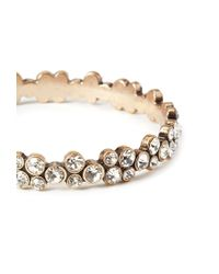 Forever 21 | Metallic Rhinestone-encrusted Bangle | Lyst