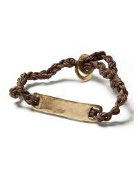 Banana Republic | Metallic Id Bracelet | Lyst