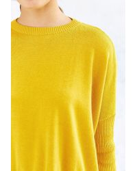 Silence + Noise - Yellow Shiloh Sweater - Lyst
