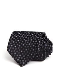 Saint Laurent - Black Spots Classic Tie - Bloomingdale's Exclusive for Men - Lyst