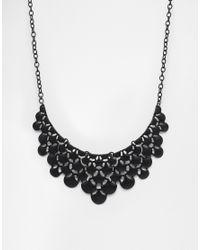 Girls On Film - Black Statement Collar Necklace - Lyst