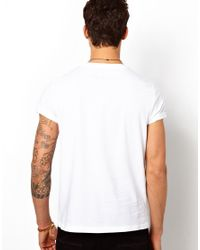ASOS | White Tshirt with Graphic New York City Print for Men | Lyst