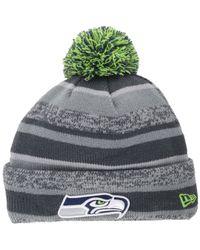 e5534b814 Lyst - KTZ Kids Seattle Seahawks Sport Knit Hat in Gray for Men
