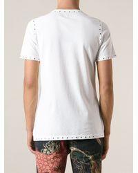 Vivienne Westwood - White Studded Tshirt for Men - Lyst