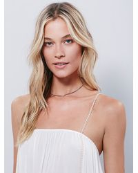 Free People | White Intimately Womens Moondance Romper | Lyst