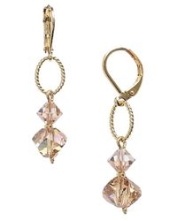 Dabby Reid | Metallic 'lyla' Swarovski Crystal Mix Earrings - Light Colorado | Lyst
