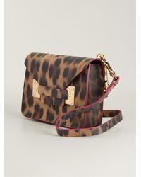 Sophie Hulme - Brown Mini Envelope Bag - Lyst
