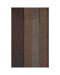 Paul Smith - Brown Mixed-Texture Scarf for Men - Lyst