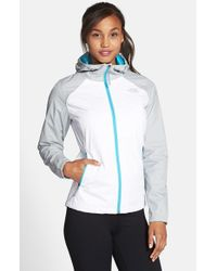 The North Face - Gray 'allabout' Hooded Jacket - Lyst