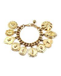Lulu Frost | Metallic Victorian Plaza Charm Number Bracelet | Lyst