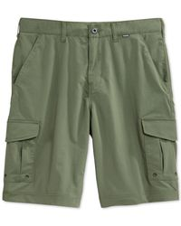 Hurley | Green Men's Dri-fit Cargo Shorts for Men | Lyst
