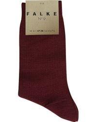 Falke - Purple No2 Silk-blend Socks - Lyst