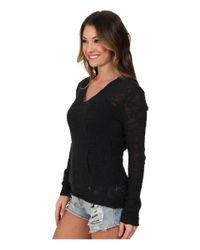 Roxy - Black Warm Heart Sweater - Lyst