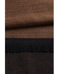BOSS - Natural 'scarf Cm' | Wool Melange Scarf for Men - Lyst