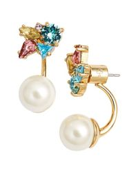 kate spade new york | Multicolor 'dainty Sparklers' Drop Back Earrings - Multi | Lyst