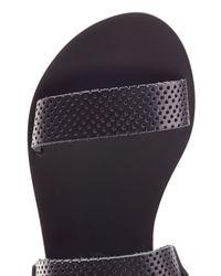 Ancient Greek Sandals - Clio Platform Sandals - Black - Lyst
