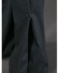 Vionnet - Black Flared Tailored Trousers - Lyst