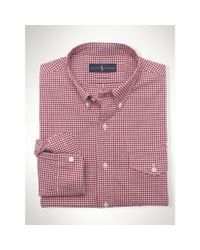 Polo Ralph Lauren | Pink Slim-fit Stretch Oxford Shirt for Men | Lyst