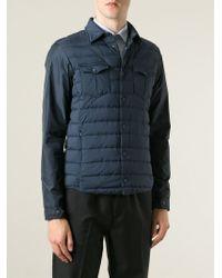 Herno   Blue Padded Jacket for Men   Lyst