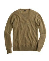 J.Crew - Natural Italian Cashmere Sweatshirt for Men - Lyst