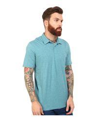 Volcom - Blue Wowzer Polo for Men - Lyst