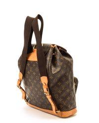 Louis Vuitton - Brown Monogram Montsouris Gm Backpack - Lyst