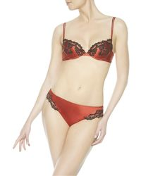 La Perla | Red Maison Push-up Bra | Lyst